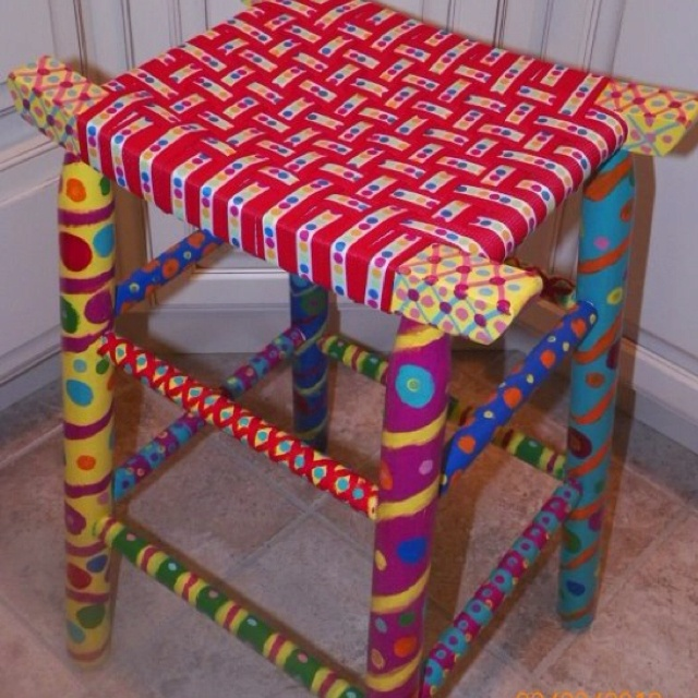 Counter stool.  I actually DID one of my projects!