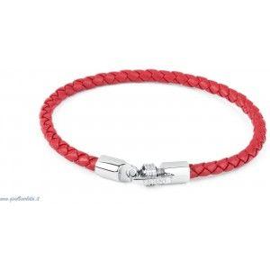 S'AGAPO' Bracciale Uomo in Pelle di colore rosso SCM04 http://www.gioiellivarlotta.it/product.php?id_product=1236