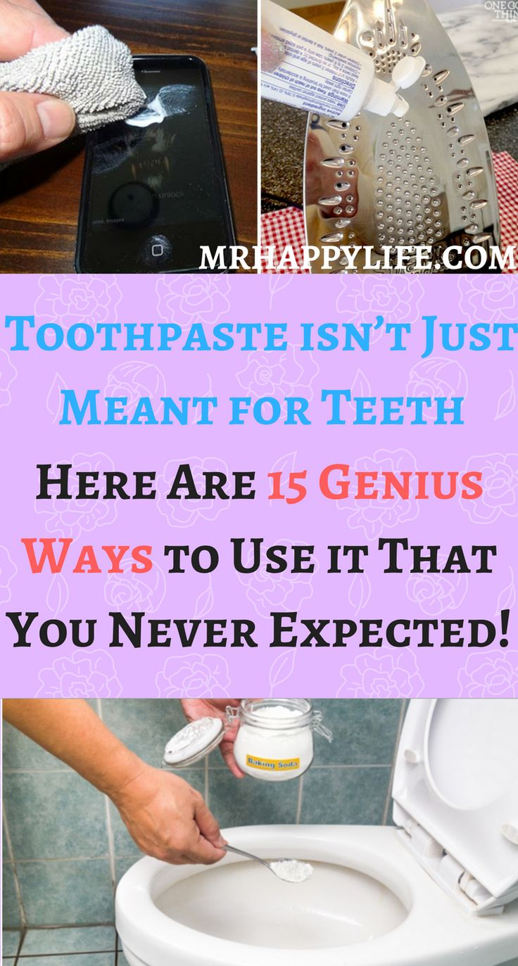 We will show you some handy tricks on how to use toothpaste in service of your beauty and household.