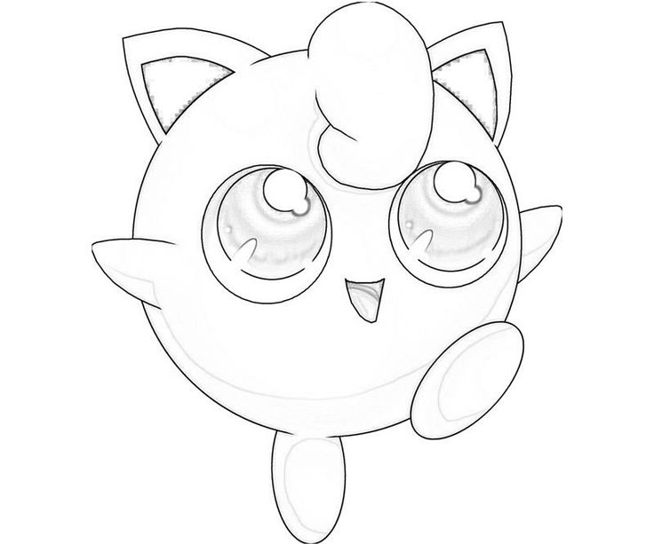 Gigglypuff Coloring Page