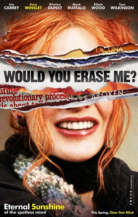 Eternal Sunshine of the Spotless Mind Movie Poster #2 - Internet Movie Poster Awards Gallery