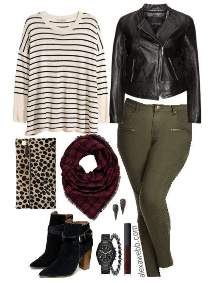 Plus Size Outfit Idea - Plus Size Fashion - Alexa Webb - alexawebb.com #alexawebb