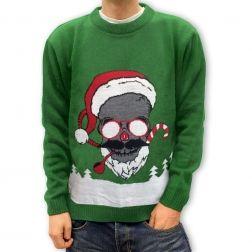 Dzisiaj coś innego - #Święta czacha, #sweter z odrobina humoru. Do kupienia na http://swetryswiateczne.pl/pl/