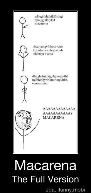 Macerena!