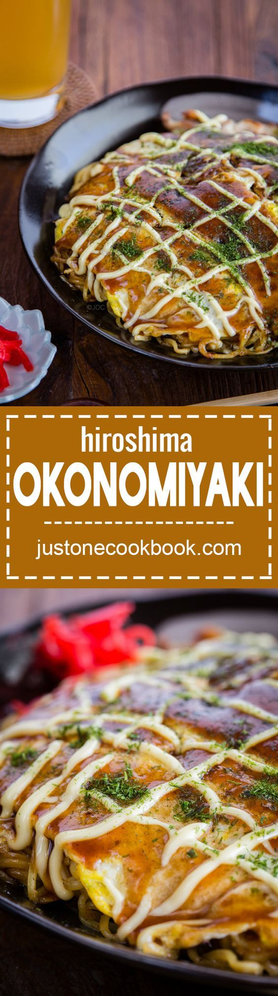 Hiroshima Okonomiyaki (広島風お好み焼き) | Easy Japanese Recipes at JustOneCookbook.com