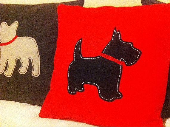 Animal Silhouette Cushions from Shelter