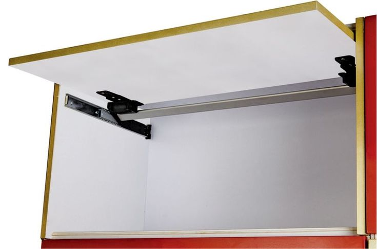 Ys336 B Cabinet Door Upward Smooth Slide Track Upward