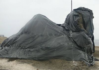 FOTOS Tocopilla de Luto: Monumentos locales amanecieron cubiertos de negro | El Nortero.cl, Noticias de Antofagasta y Calama