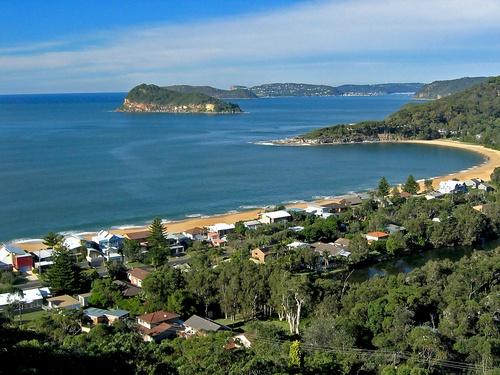 in Pearl Beach NSW, Australia