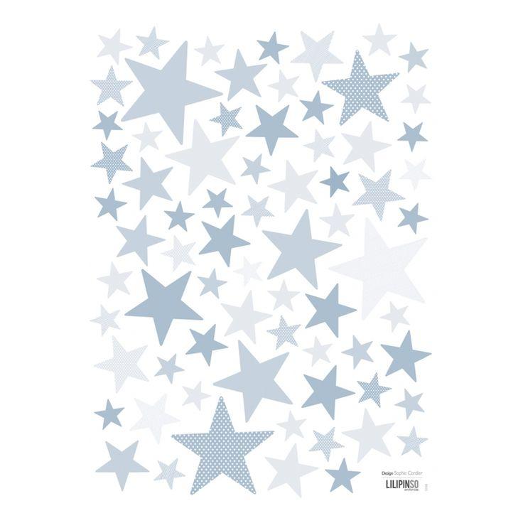 Sterne deko kinderzimmer - Madchenzimmer dekoration ...