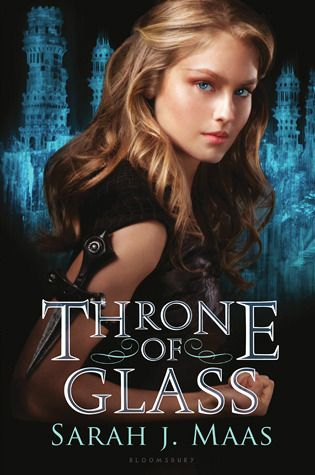 throne of glass - great book series, strong heroine, romance, action - Rae Gun Ramblings