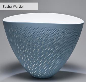 Sasha Wardell, new collection of ceramics, a collection of bone china, translucent pieces