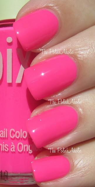 The PolishAholic: Pixi Pinks! Summer Pink