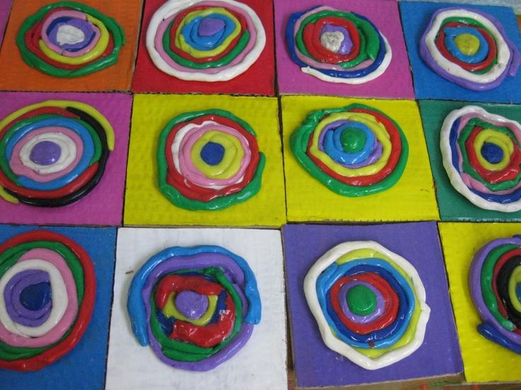 Cercles concèntrics de Kandinsky