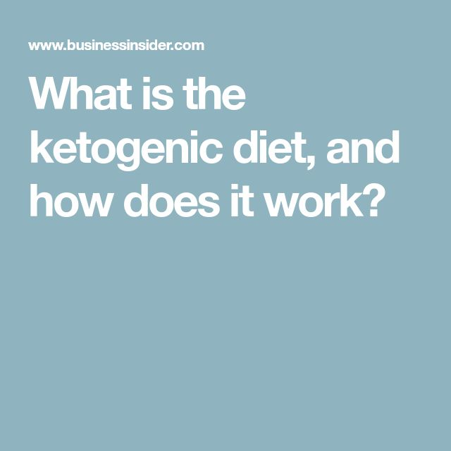 What is the ketogenic diet, and how does it work?