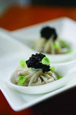 """ Bo Innovation"" Restaurant. Hong Kong. Chef Alvin Leung."