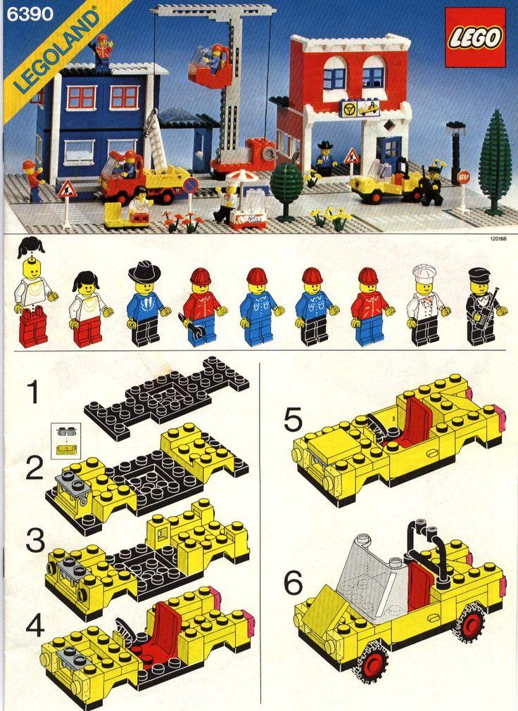 City - Main Street [Lego 6390]