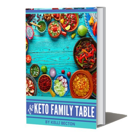 The Keto Family Table reg $9.99 on SALE $5.50. 2wks of easy, delicious #Keto #lowcarb #recipes 4 the whole family: 14 breakfast, 14 lunch, 14 snacks, 14 dinners, 14 deserts and bonuses, how-to's #healthy