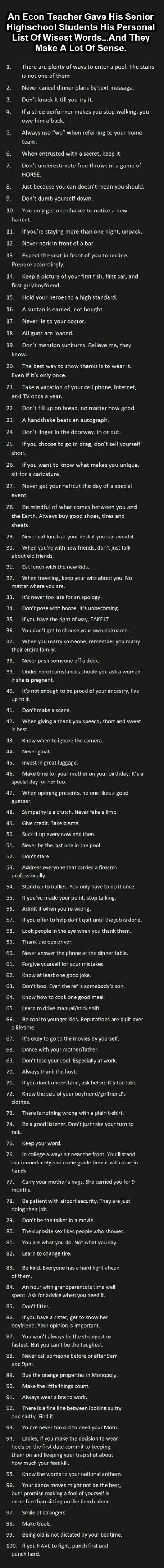 100 wise words that will improve your life