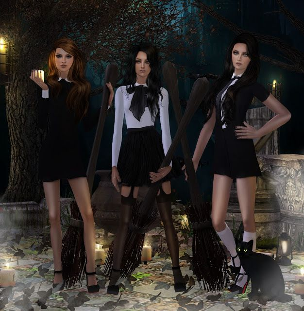 Sims2City: I'm a Witch! Posebox