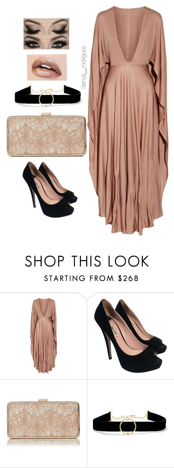 """Sin título #113"" by sousou2578 on Polyvore featuring moda, Valentino, Miu Miu y Anissa Kermiche"
