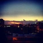 Great sunset tonight! (from my Instagram account - @emilyinchile)