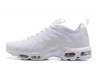 new style affc1 88d53 Mens Womens Nike Air Max Plus TN Ultra Triple White 898015 109 Running Shoes