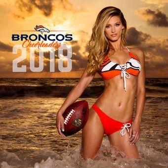 Denver Broncos 2018 Cheerleaders Calendar  Afflink