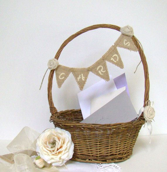 Buy Wedding Card Box, Wedding Card Holder, Rustic Wedding Basket, Cards Sign, Rustic Wedding, Beach Wedding, Country Farm Wedding, Willow Basket by twiningvines. Explore more products on http://twiningvines.etsy.com
