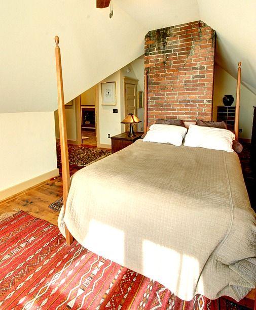 Ático granja victoriana-cama terminado