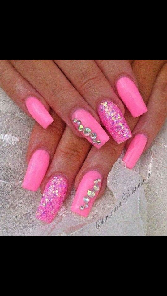 18 best Uñas Rouus images on Pinterest | Pink nail, Nail ideas and ...