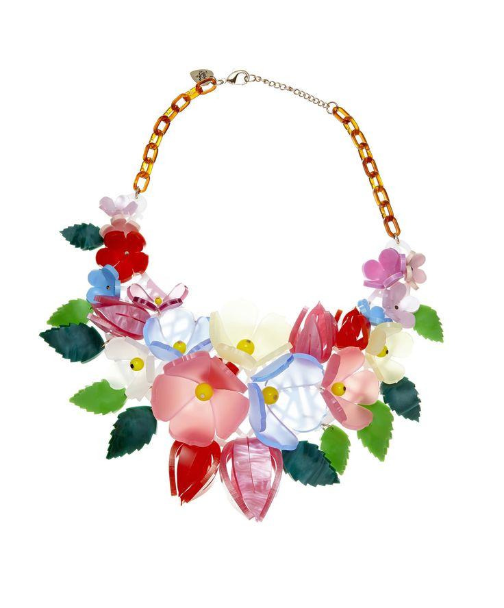 Midsummer Blooms Statement Necklace