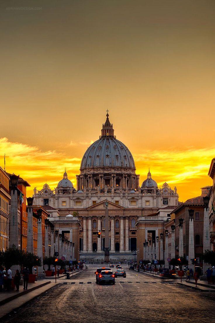 """Eis o Vaticano-  Itália """"amém"""""""