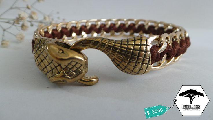 pulsera artesanal chile valparaíso valpo viña bisuteria accesorio umbrella thorn umbrellathorncl cobra