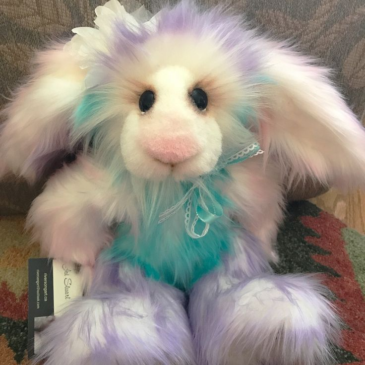 Sara Bunny is for sale at RiverSong Art Studio on Etsy