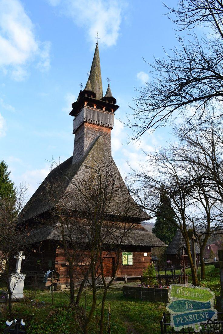 Wooden church from Budești Josani, Maramureș, Romania, 1643