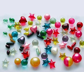 Bath beads were awesome when they started to come in all kinds of shapes! I would slowly watch the stupid thing dissolve in the bathtub. The things that used to hold my attention...