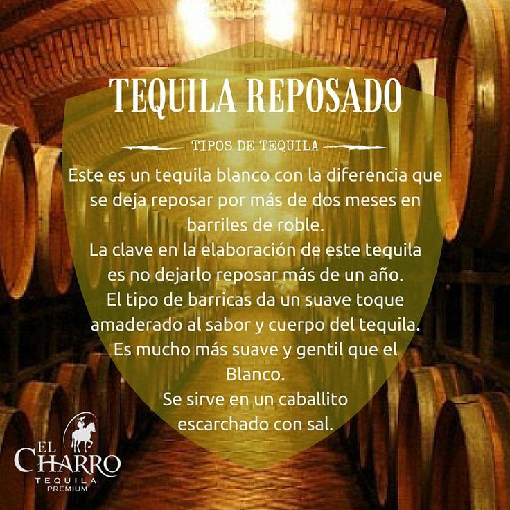 Conoce todos los tipos de tequila!!! #Tequila #Reposado