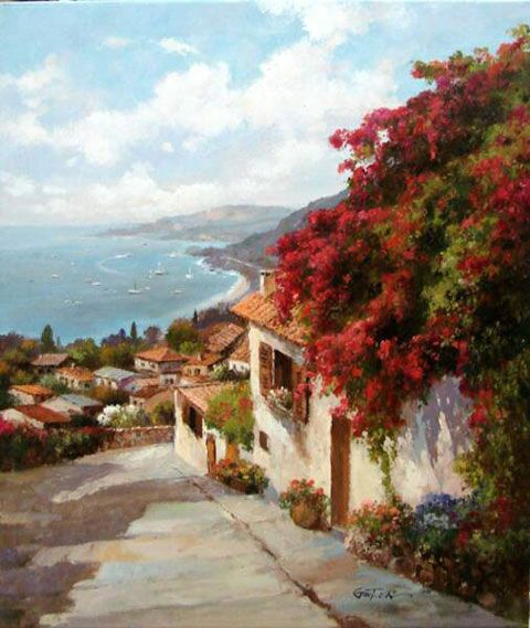 Galerie Zuger Dallas • Paul Guy Gantner | View from Cinque Terre
