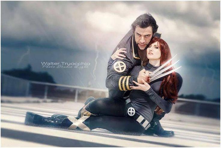 Wolverine and Jean grey by Evejo.deviantart.com on @deviantART