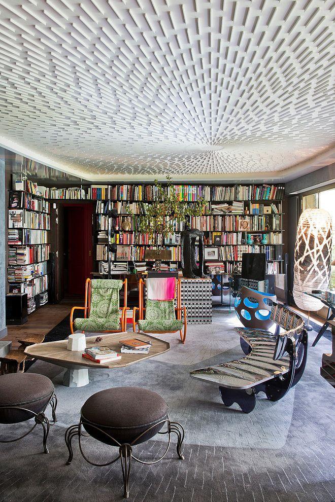 AphroChic: A Parisian Apartment Where Art Takes Center Stage