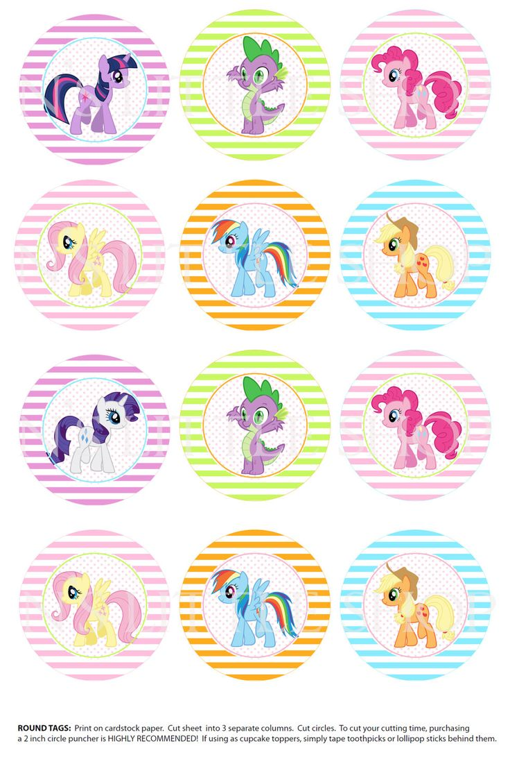100 Complicolor My Little Pony Coloring