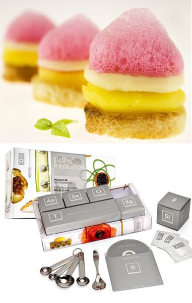 Molecule-r: Molecular Gastronomy Kits - Tools and Recipes for that Top Chef you know.