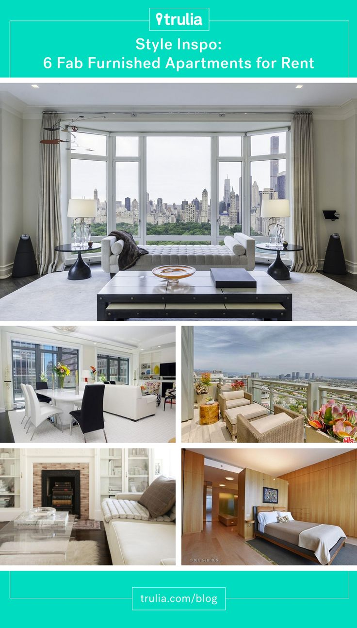 6 Fab Luxury Furnished Apartments For Rent   Real Estate 101   Trulia Blog