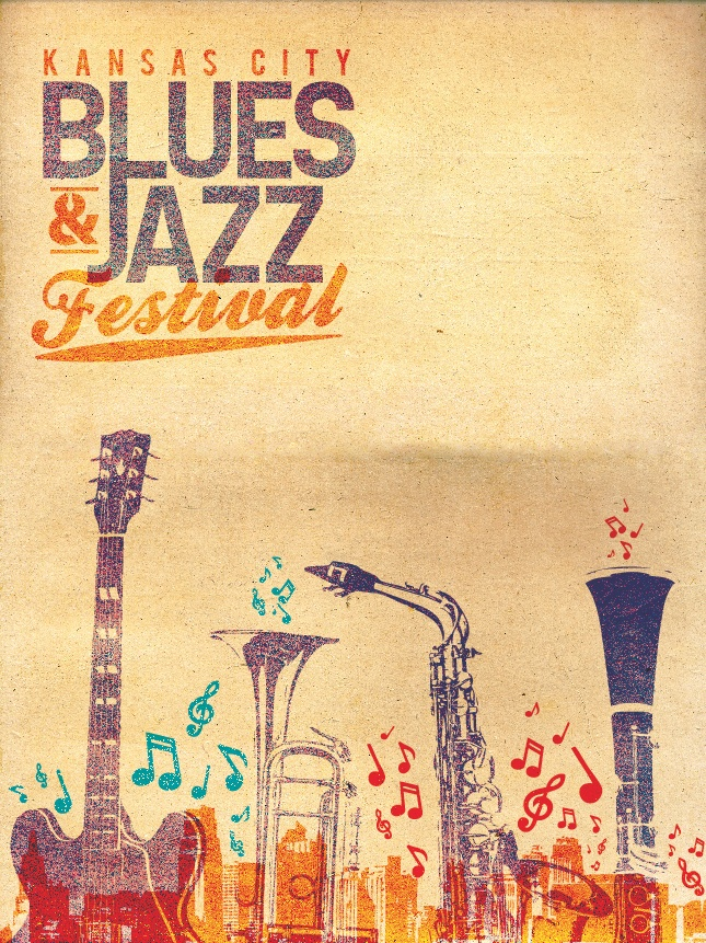 Behance Network :: Kansas City Blues and Jazz Festival