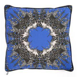 """""""SABINA SAVAGE"""" Sabina Savage Foxglove Blue Cushion at Heal's"""