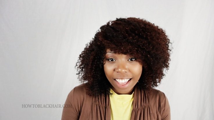 Hair Styles For Short Virgin Hair: Latch Hook Crochet Braids On Virgin Natural Hair Tutorial