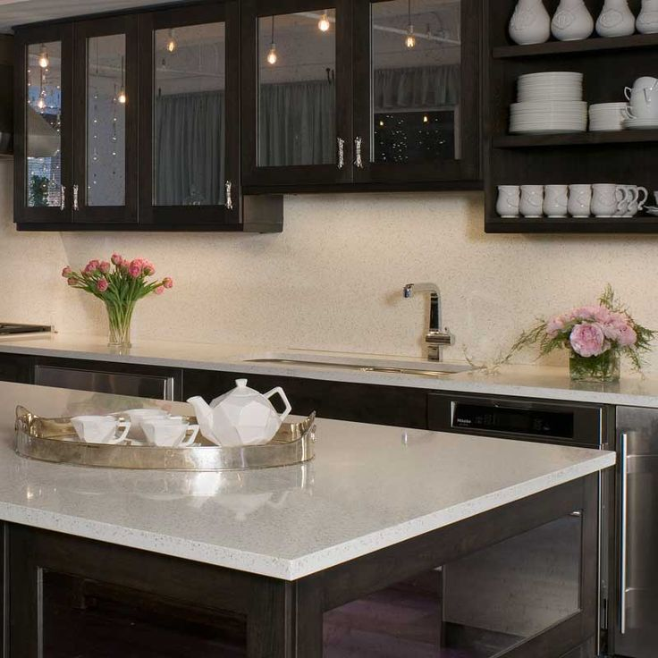 Dark, Recycled Glass Countertops And Search