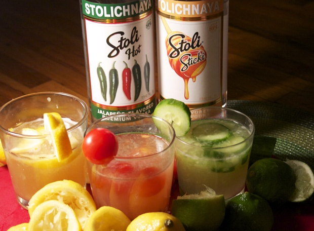 Three refreshing cocktail recipes using two new Stoli vodka flavors (plus other amazing ingredients!)