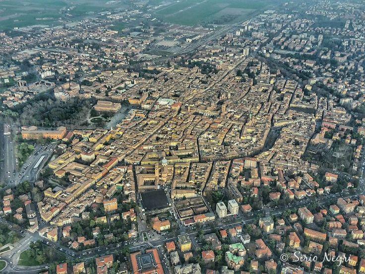 Reggio Emilia dall'alto